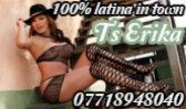 TS Latin Erika - Transexual in Glasgow City Centre